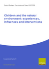 Children and the natural environment: experiences, influences and interventions (Thumbnail link to record)