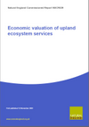 Economic valuation of uplands ecosystem services (Thumbnail link to record)