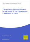 The aquatic ecological status of the rivers of the Upper Dove Catchment in 2009 (Thumbnail link to record)