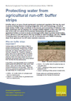 Protecting water from agricultural run-off: buffer strips (Thumbnail link to record)