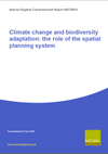 Climate Change and Biodiversity Adaptation: The Role of the Spatial Planning System (Thumbnail link to record)