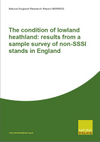 The condition of lowland heathland: results from a sample survey of non-statutory stands in England (Thumbnail link to record)