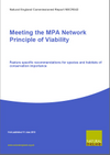 Meeting the MPA Network Principle of Viability: Feature specific recommendations for species and habitats of conservation importance (Thumbnail link to record)