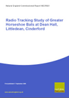 Radio Tracking Study of Greater Horseshoe Bats at Dean Hall, Littledean, Cinderford (Second phase - linked to NERR012) (Thumbnail link to record)