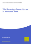Wild Adventure Space: its role in teenagers' lives (Thumbnail link to record)