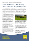 Environmental Stewardship and climate change mitigation (Thumbnail link to record)