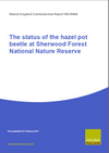 The status of the hazel pot beetle at Sherwood Forest National Nature Reserve (Thumbnail link to record)