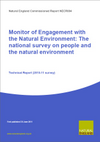Monitor of Engagement with the Natural Environment: The national survey on people and the natural environment - Technical Report (2010-11 survey) (Thumbnail link to record)