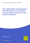 The regeneration of bryophytes after the burning of dry heath (H12a) and wet heath (M16d) moorland on the North York Moors (Thumbnail link to record)