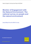 Monitor of Engagement with the Natural Environment: The national survey on people and the natural environment - Annual Report from the 2009-10 survey (Thumbnail link to record)