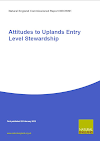 Attitudes to Uplands Entry Level Stewardship (Thumbnail link to record)