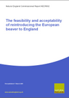 The feasibility and acceptability of reintroducing the European beaver to England (Thumbnail link to record)
