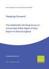 Stepping Forward - The Stakeholder Working Group on Unrecorded Public Rights of Way: Report to Natural England (Thumbnail link to record)