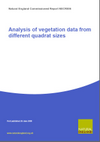 Analysis of vegetation data from different quadrat sizes (Thumbnail link to record)