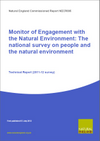 Monitor of Engagement with the Natural Environment: The national survey on people and the natural environment - Technical Report (2011-12 survey) (Thumbnail link to record)