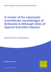 A review of the national importance and current condition of the saproxylic invertebrate assemblages at Birklands & Bilhaugh SSSIs, Sherwood Forest, Nottinghamshire (Thumbnail link to record)