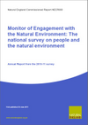 Monitor of Engagement with the Natural Environment: The national survey on people and the natural environment - Annual Report from the 2010-11 survey (Thumbnail link to record)
