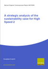 A strategic analysis of the sustainability case for High Speed 2 (Thumbnail link to record)