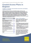 Coastal Access Plans in England: Guidance on strategic environmental assessment and habitats regulations appraisal (Thumbnail link to record)
