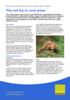 The red fox in rural areas (Thumbnail link to record)