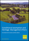 Conditional exemption and heritage management plans (Thumbnail link to record)