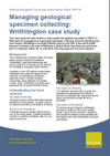 Managing geological specimen collecting: Writhlington case study (Thumbnail link to record)
