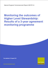 Monitoring the outcomes of Higher Level Stewardship: Results of a 3-year agreement monitoring programme (Thumbnail link to record)