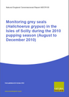 Monitoring grey seals (Halichoerus grypus) in the Isles of Scilly during the 2010 pupping season (August to December 2010) (Thumbnail link to record)