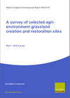 A survey of selected agri-environment grassland and heathland creation and restoration sites (Thumbnail link to record)