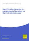 Identifying best practice in management of activities on Marine Protected Areas (Thumbnail link to record)