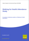 Walking for Health Attendance Study: An analysis of attendance patterns of Walking for Health participants (Thumbnail link to record)