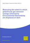 Measuring the extent to which greenhouse gas emission savings achieved by Environmental Stewardship are displaced on-farm (Thumbnail link to record)