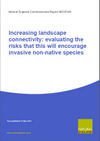 Increasing landscape connectivity: evaluating the risks that this will encourage invasive non-native species (Thumbnail link to record)