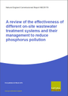 A review of the effectiveness of different on-site wastewater treatment systems and their management to reduce phosphorus pollution (Thumbnail link to record)