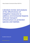 Literature review and analysis of the effectiveness of mitigation measures to address environmental impacts of linear transport infrastructure on protected species and habitats (Thumbnail link to record)
