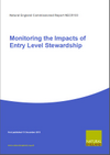 Monitoring the Impacts of Entry Level Stewardship (Thumbnail link to record)