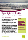 Spotlight on SSSIs  – Working towards the goals of Biodiversity 2020: Issue 5 – December 2014 (Thumbnail link to record)
