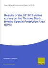 Results of the 2012/13 visitor survey on the Thames Basin Heaths Special Protection Area (SPA) (Thumbnail link to record)