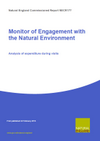 Monitor of Engagement with the Natural Environment: Analysis of expenditure during visits (Thumbnail link to record)