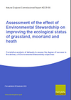 Assessment of the effect of Environmental Stewardship on improving the ecological status of grassland, moorland and heath (Thumbnail link to record)