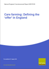 Care farming: Defining the 'offer' in England (Thumbnail link to record)