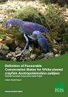 Definition of Favourable Conservation Status for White-clawed crayfish (Thumbnail link to record)