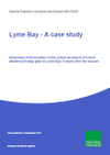 Lyme Bay - A case study: Response of the benthos to the zoned exclusion of towed demersal fishing gear in Lyme Bay; 6 years after the closure (Thumbnail link to record)