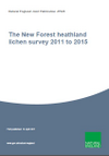The New Forest heathland lichen survey 2011 to 2015 (Thumbnail link to record)