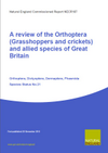 A review of the Orthoptera (Grasshoppers and crickets) and allied species of Great Britain (Thumbnail link to record)