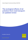 The ecological effects of air pollution from road transport: an updated review (Thumbnail link to record)