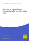 A review of nature-based interventions for mental health care (Thumbnail link to record)